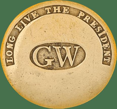 George Washington Inaugural Button