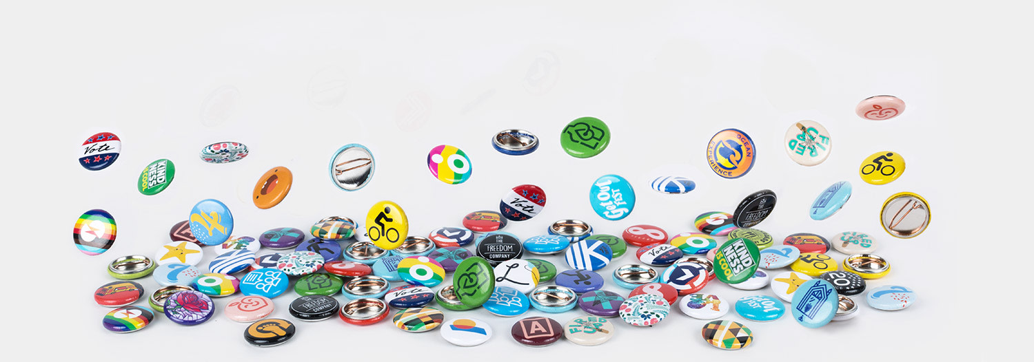 25mm Ronde buttons